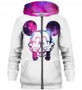 Rebel zip up hoodie