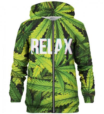 Relax zip up hoodie