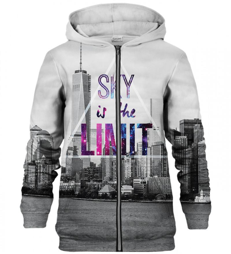 Sky is the Limit zip up hoodie