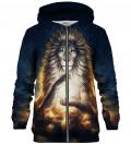 Soul Keeper zip up hoodie, design by Jonas Jödicke - Jojoes Art