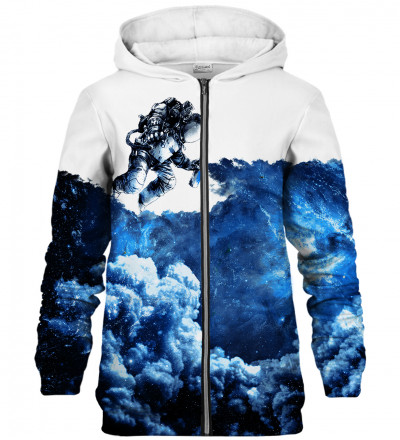 Space Art zip up hoodie