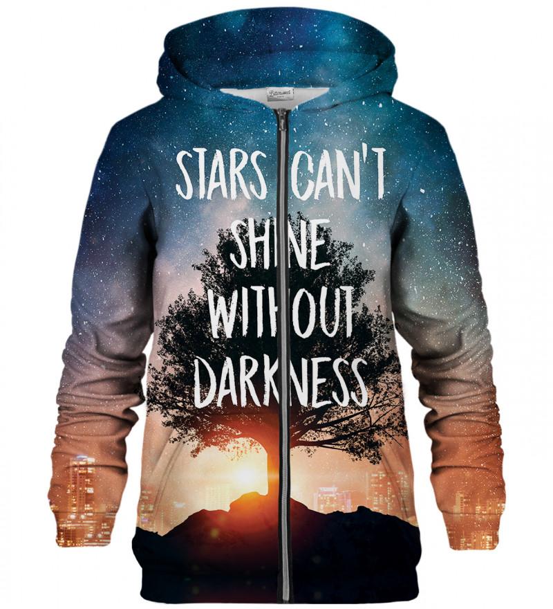 Stars zip up hoodie