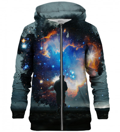 Step into the Galaxy zip up hoodie