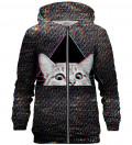Technocat zip up hoodie