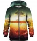 Tree zip up hoodie