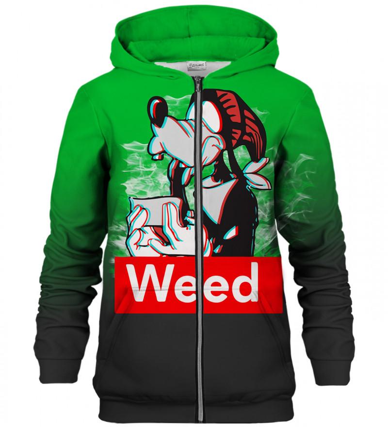 Weed Buddy zip up hoodie