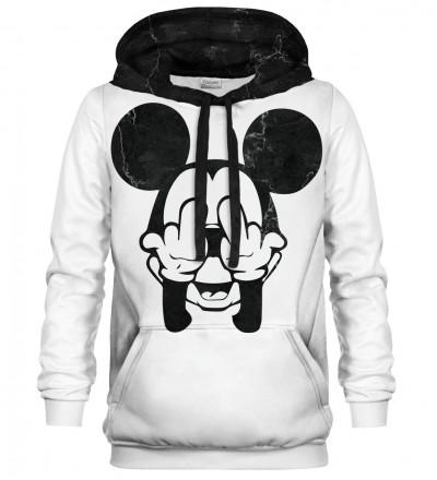 Rebel White Grunge hoodie