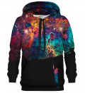 Printed Hoodie - Paint your Galaxy