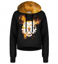 Golden Rebel cropped hoodie without pocket