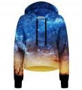 Safari cropped hoodie without pocket