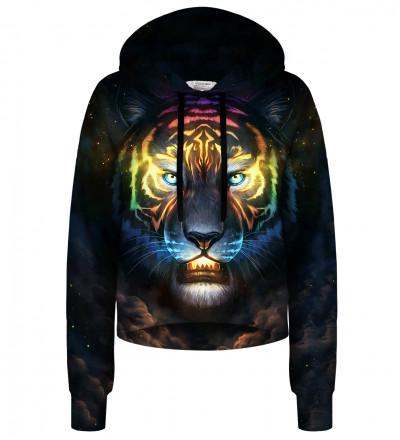 Colorsoul cropped hoodie