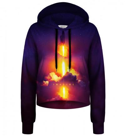 Crop hoodie Imagine