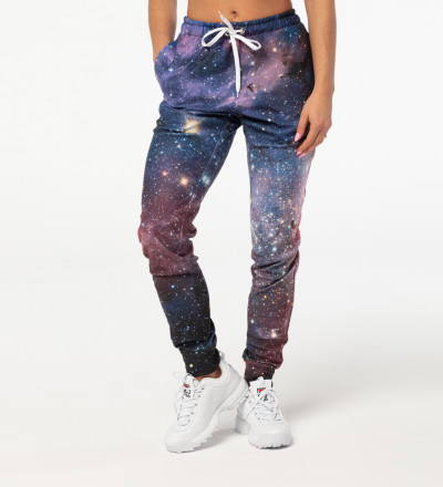 Purple Galaxy womens pants