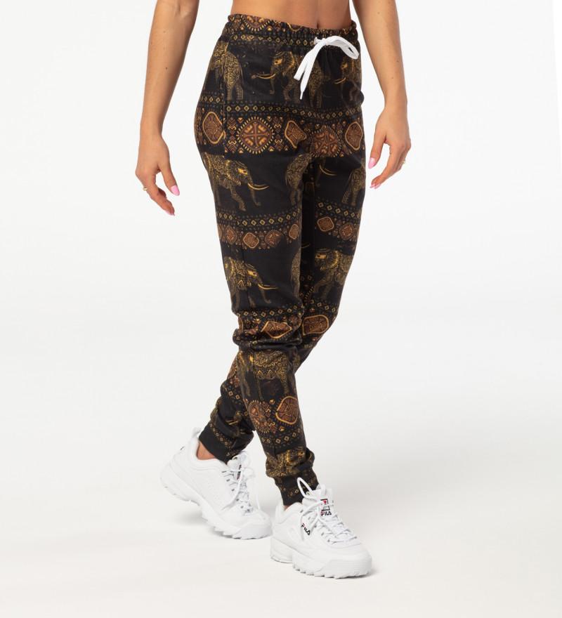 Spodnie dresowe damskie Golden Elephants