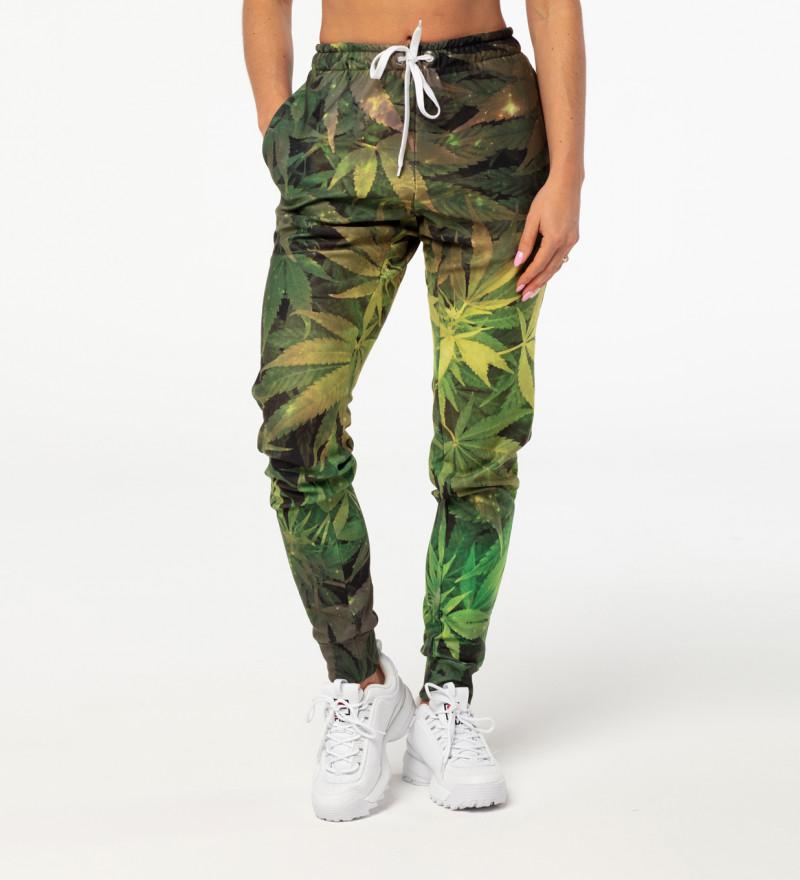 Spodnie dresowe damskie Weed