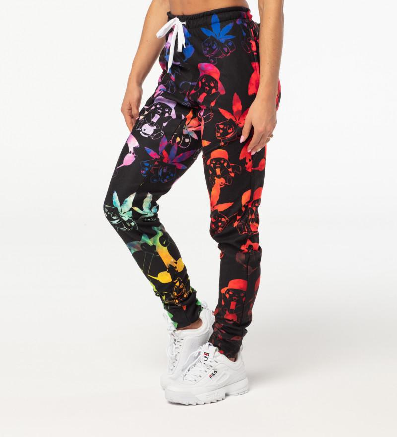 Spodnie dresowe damskie Pokebong Gradient