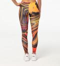 Golden Split leggings