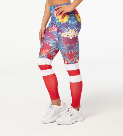 Flowers Explosion leggings