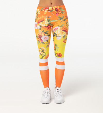 Orange Craze leggings