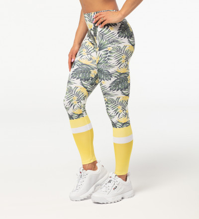 Yellow Nature leggings