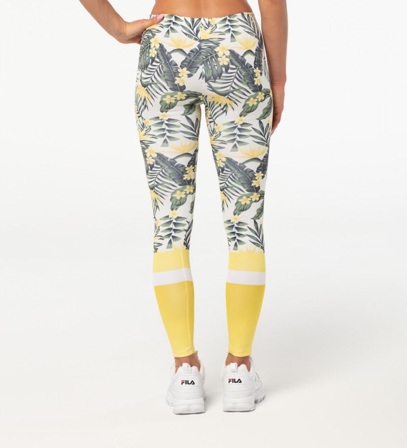 Yellow Nature leggings