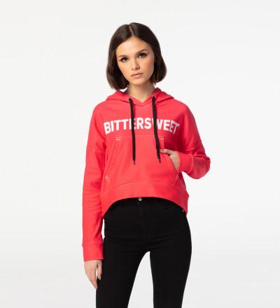 Crop hoodie Bittersweet