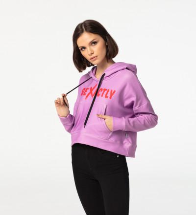 Crop hoodie Sexactly