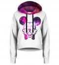 Crop hoodie Rebel