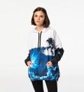 Space Art oversized hoodie