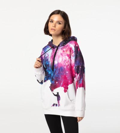 Bluza z kapturem oversize Painter