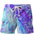 Blue Marble swim shorts