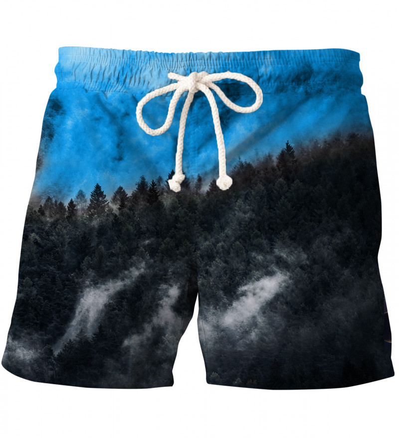 Mighty Forest Blue swim shorts