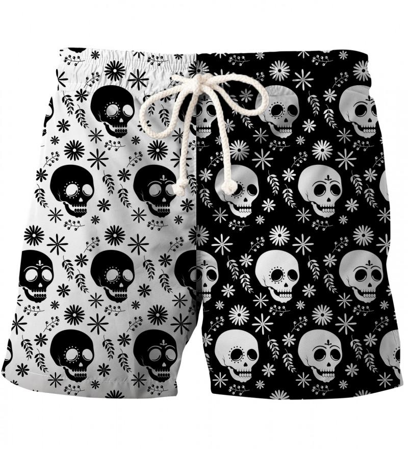 Yin Yang swim shorts