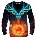 Celestial Fire sweatshirt, design by Jonas Jödicke - Jojoes Art