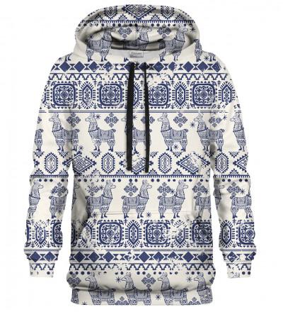 Lama Pattern hoodie