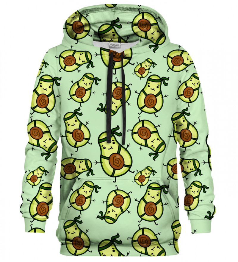 Bluza z kapturem Avocado Ninja