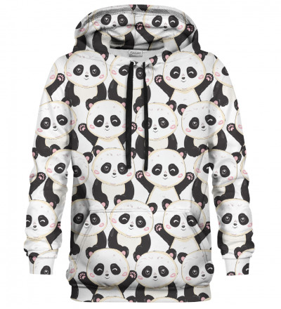 Printed Hoodie - Panda Everywhere