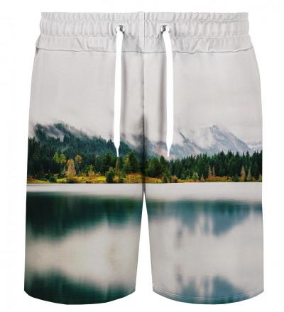 Geometric Landscape shorts