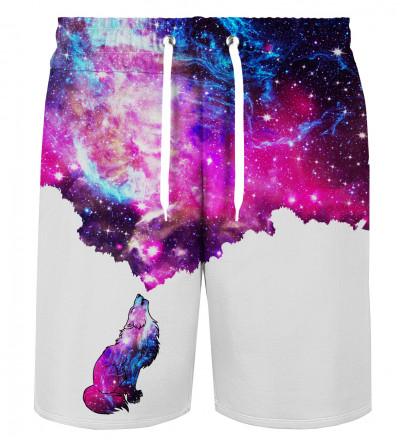 Galactic Wolf shorts
