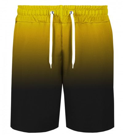Golden Black Gradient shorts