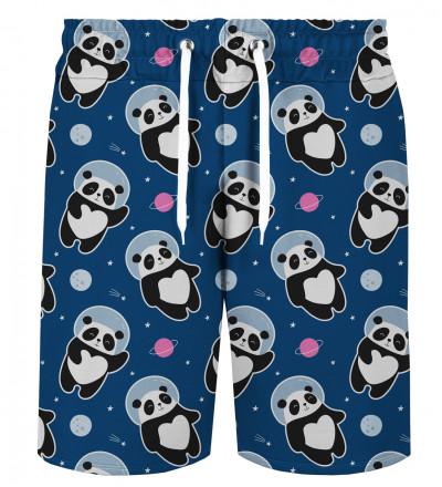 Astronaut Panda shorts