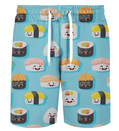 Happy Sushi shorts