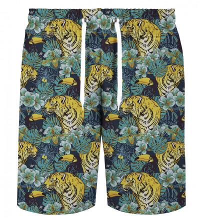 Jungle Tiger shorts