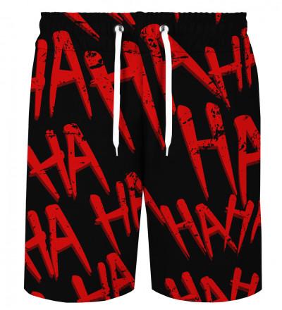 Just Hahaha Red shorts