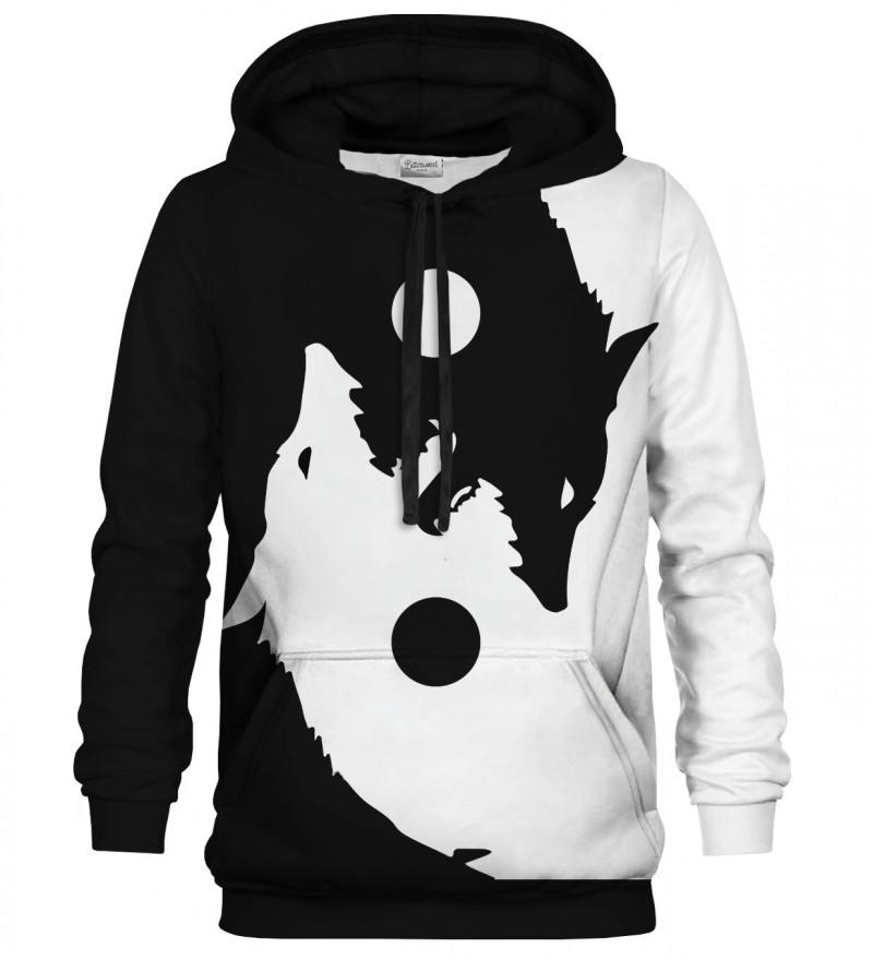 Yin Yang Wolf hoodie