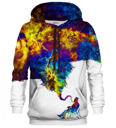 Printed Hoodie - Rocking chair relax