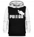 Printed Hoodie - Pumba White