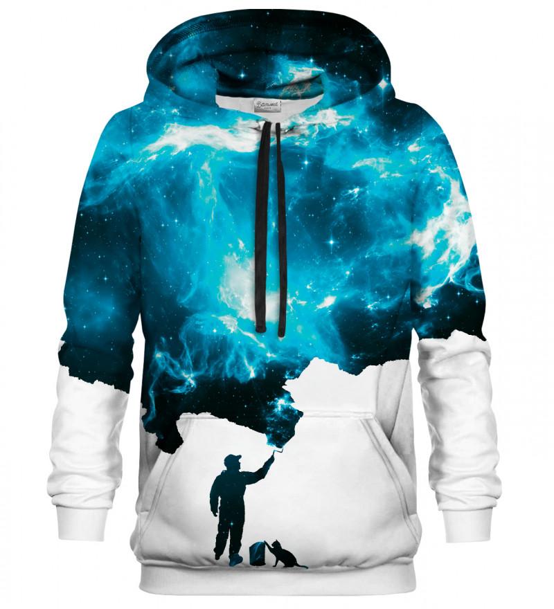 Painter Blue hoodie