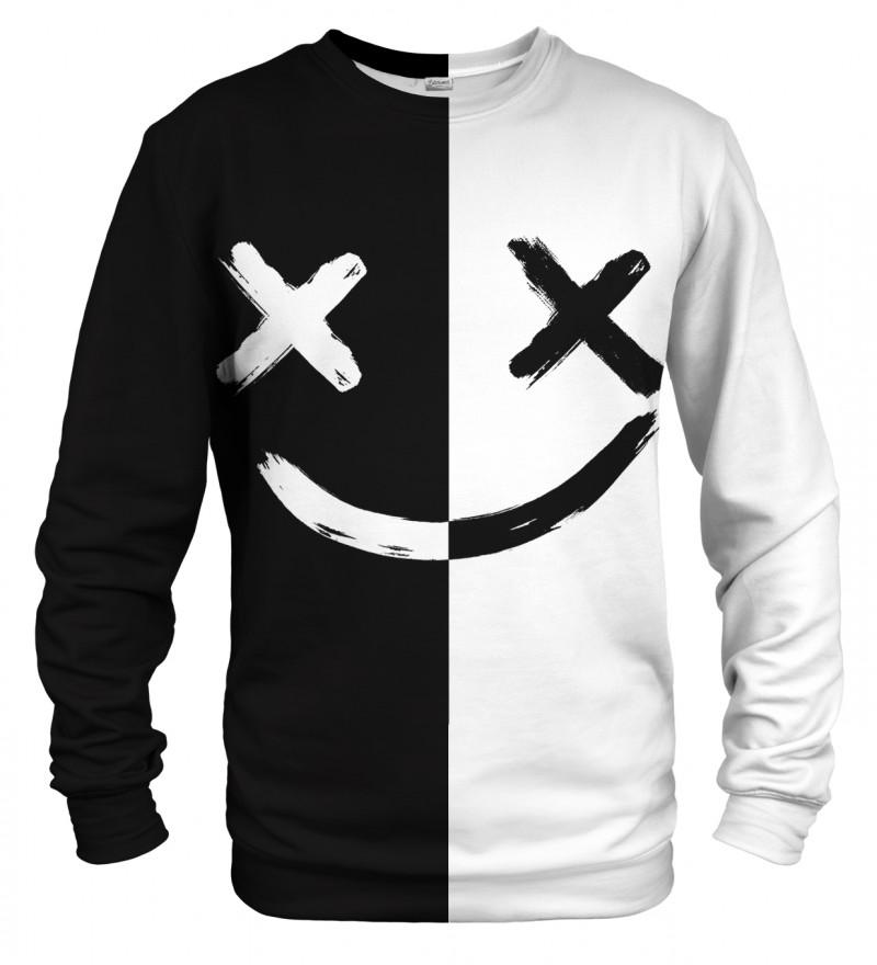 B&W Face sweatshirt