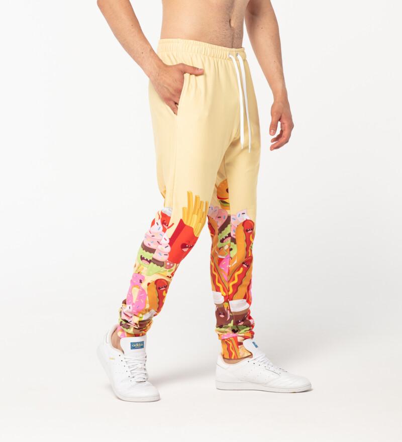 Męskie spodnie dresowe Make them Happy